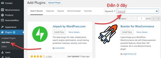 Huong Dan Cai Dat Plugin WordPress Trong Dashboard