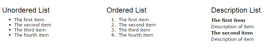 html-list-type